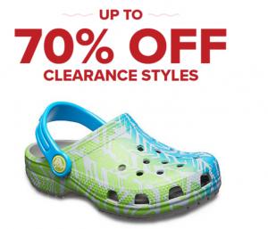 Crocs Clearance